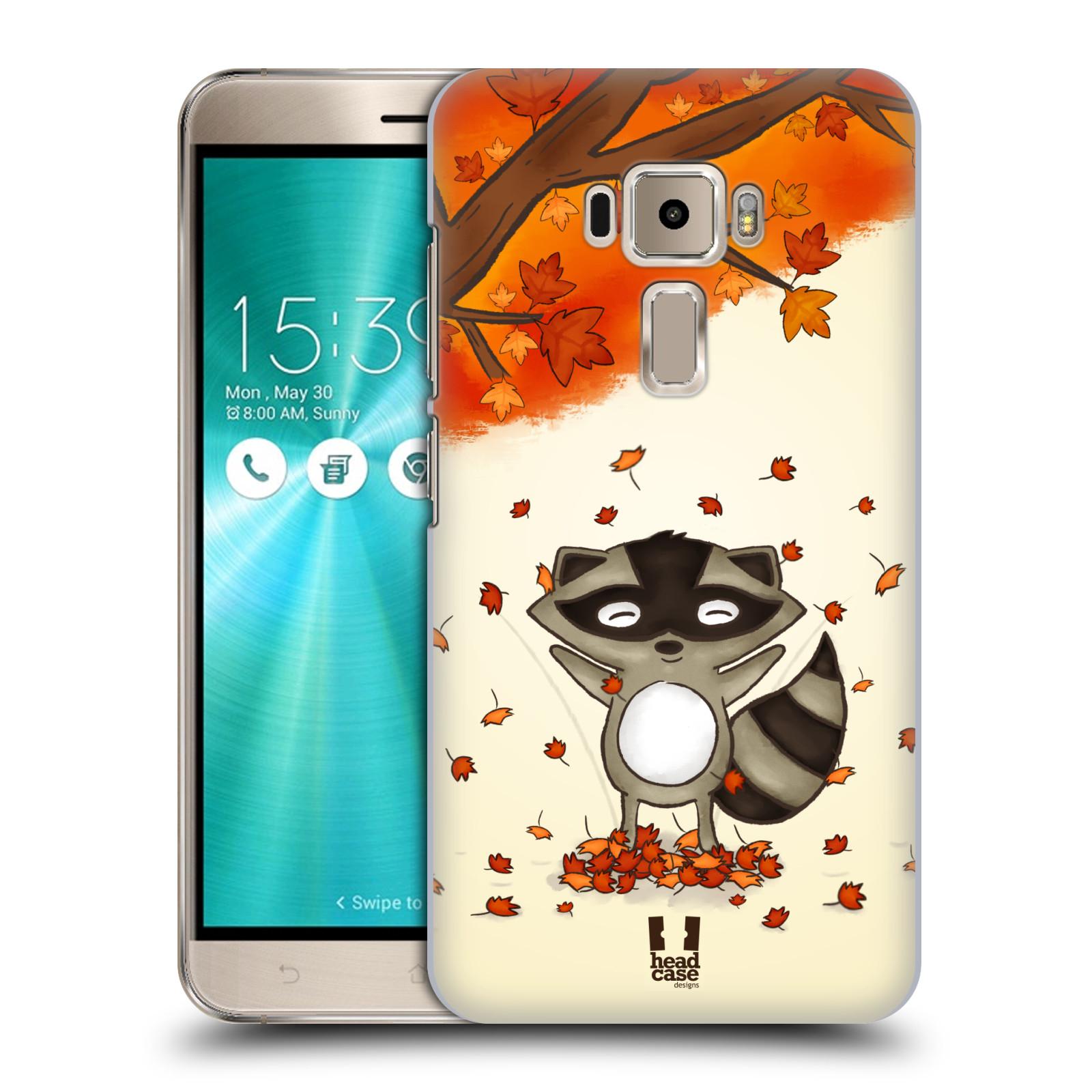 Plastové pouzdro na mobil Asus ZenFone 3 ZE520KL HEAD CASE PODZIMNÍ MÝVAL