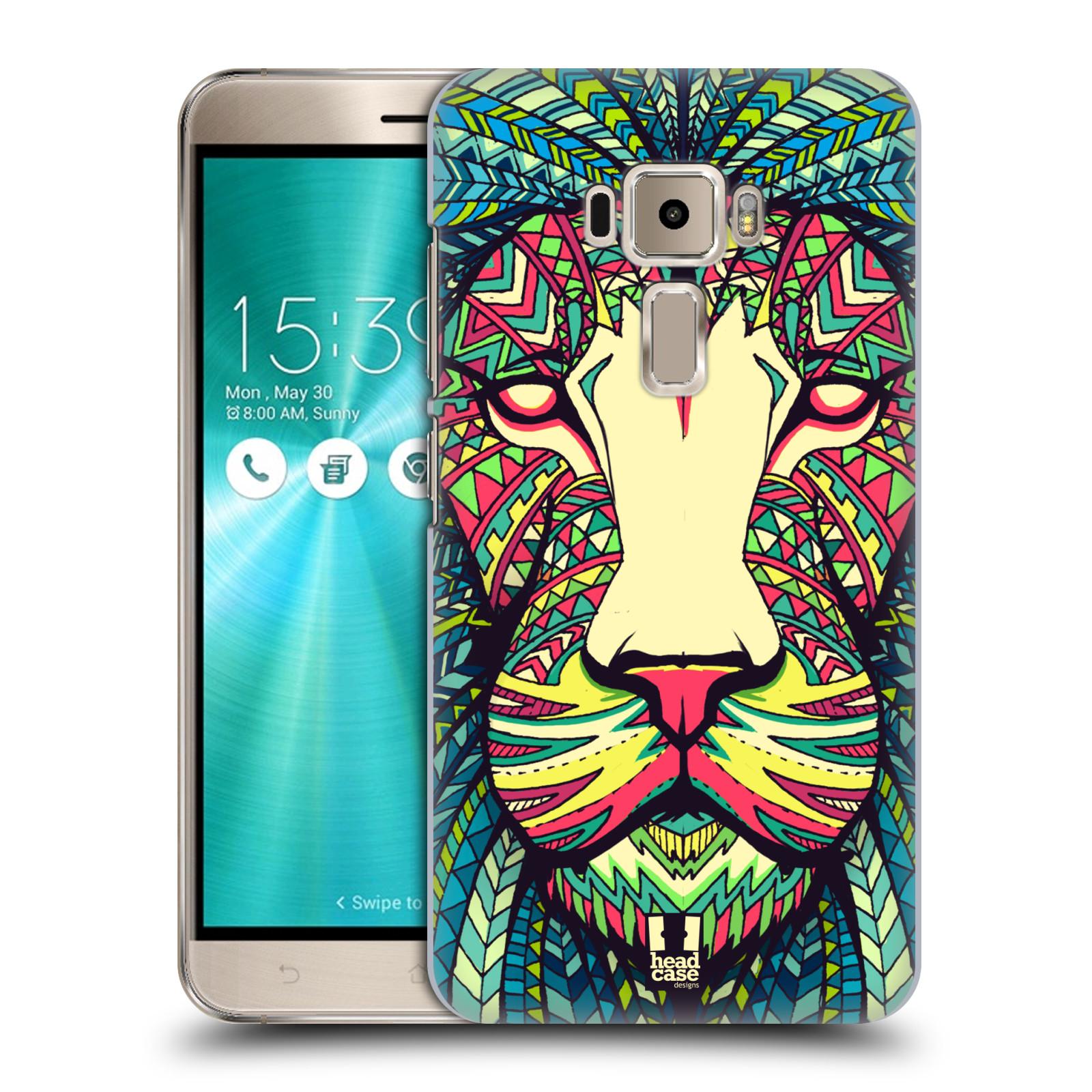 Plastové pouzdro na mobil Asus ZenFone 3 ZE520KL HEAD CASE AZTEC LEV