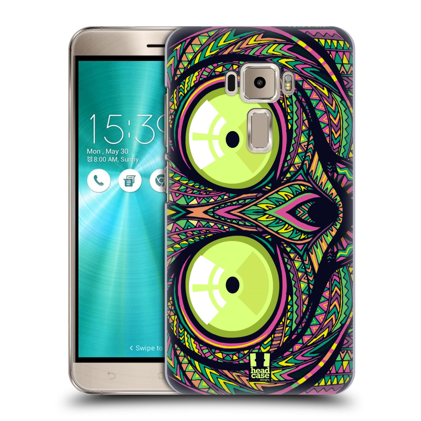 Plastové pouzdro na mobil Asus ZenFone 3 ZE520KL HEAD CASE AZTEC NÁRTOUN