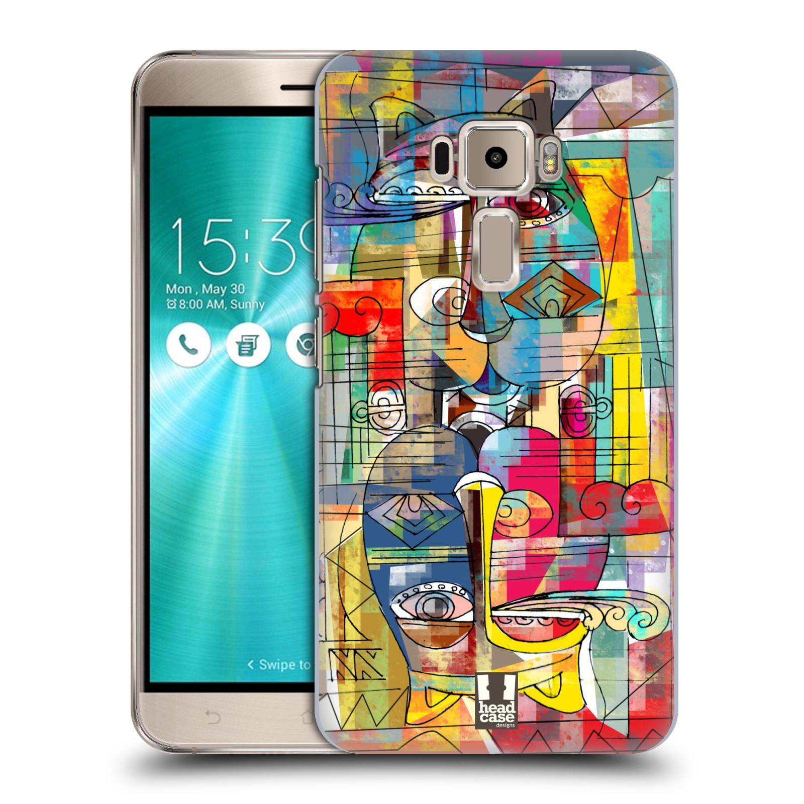 Plastové pouzdro na mobil Asus ZenFone 3 ZE520KL HEAD CASE AZTEC MANX