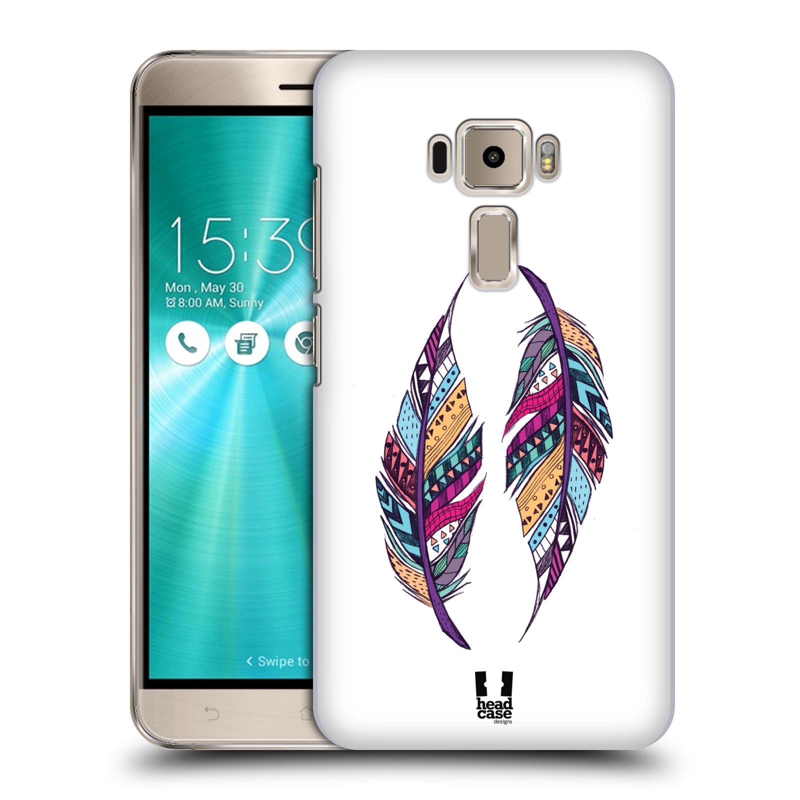 Plastové pouzdro na mobil Asus ZenFone 3 ZE520KL HEAD CASE AZTEC PÍRKA