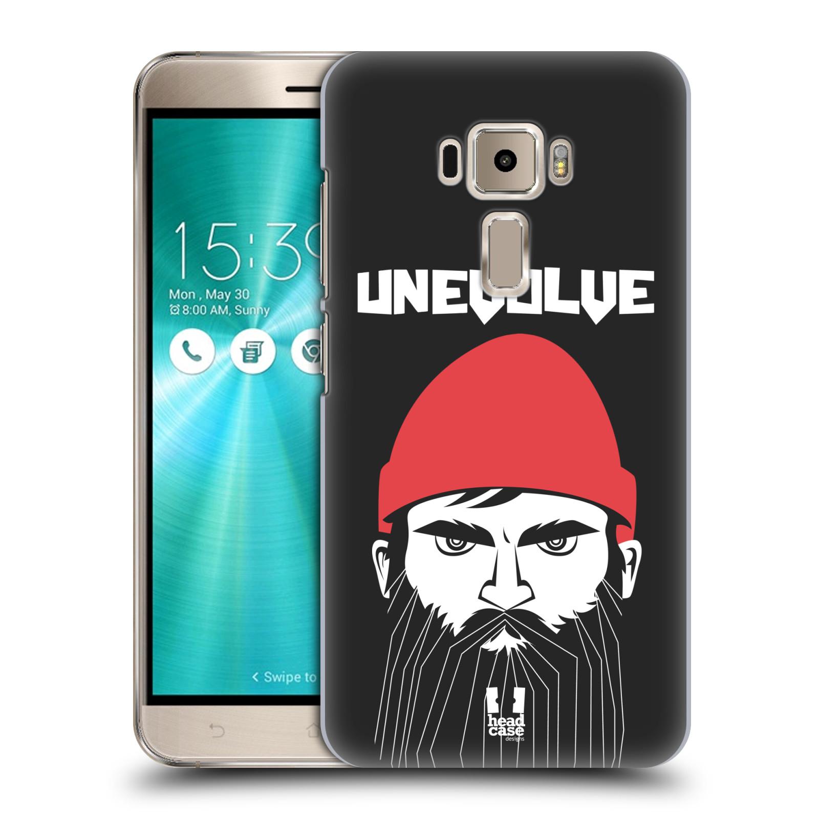 Plastové pouzdro na mobil Asus ZenFone 3 ZE520KL HEAD CASE KNÍRAČ UNEVOLVE