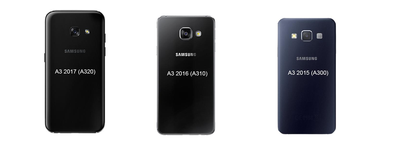 Rozdíly Samsung Galaxy A3
