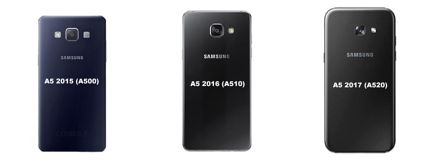 Rozdíly Samsung Galaxy A5