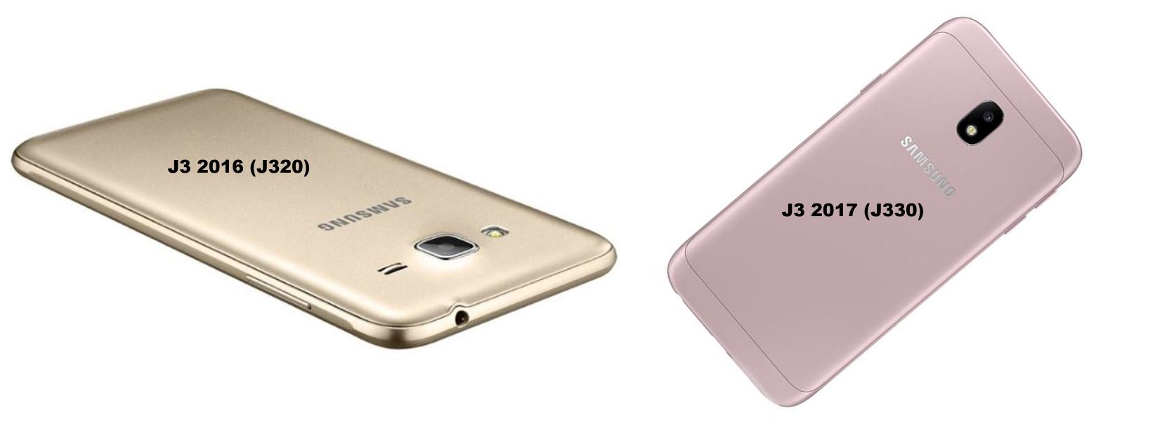 Rozdíly Galaxy J3