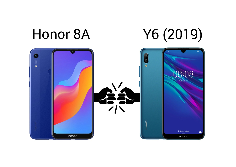 Rodinný souboj Huawei Y6 (2019) vs Honor 8A