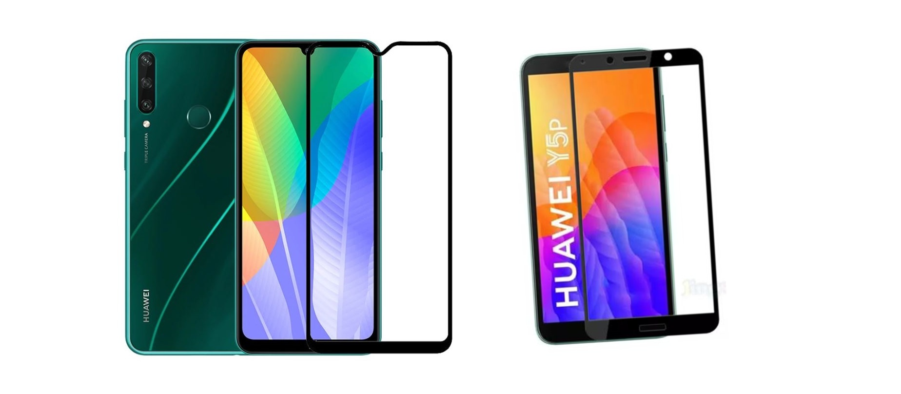 Právě jsme naskladnili skla na telefony Huawei Y6p a Huawei Y5p