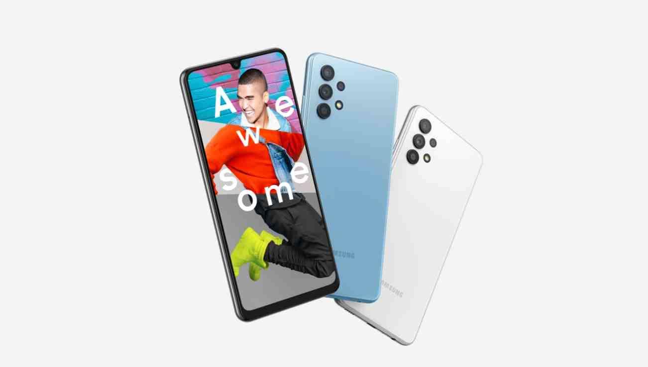 Dva různé modely. Podobný název. Samsung Galaxy A32 5G a Samsung Galaxy A32 LTE