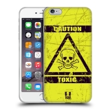 Silikonové pouzdro na mobil Apple iPhone 6 Plus a 6S Plus HEAD CASE Toxic