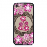 Plastové pouzdro Slim Case Art na Apple iPhone 7 / 8 Flower pink