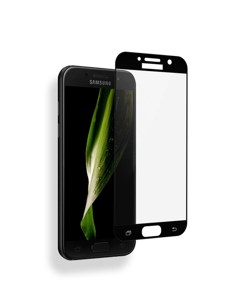Ochranné sklo Fixed 2,5D pro Samsung Galaxy J5 (2017) na celý displej - černé (Tvrzenné ochranné 2,5D full face sklo Samsung Galaxy J5 (2017) - tempered glass black)