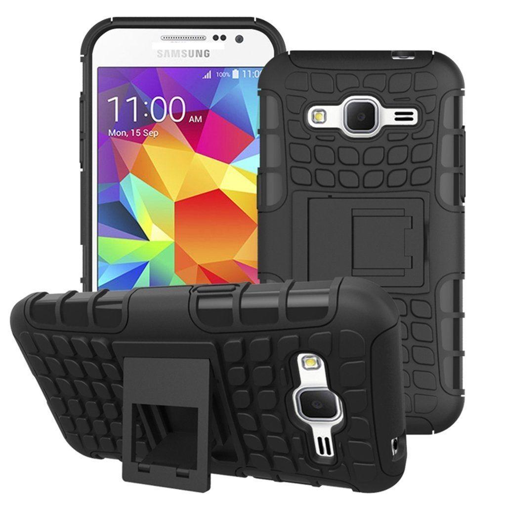 Odolné pouzdro PANZER CASE na mobilní telefon Samsung Galaxy S3 Neo Černé (Odolný kryt či obal na mobil Samsung Galaxy S III se stojánkem)