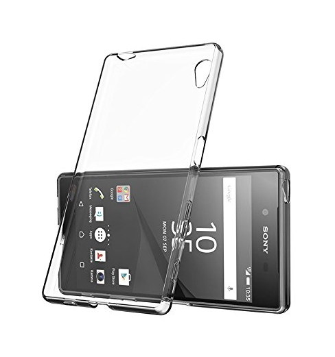 Silikonové pouzdro na mobil Sony Xperia E5 - Ultra Thin 0,5 mm čiré (Silikonový kryt či obal na mobilní telefon v průhledném provedení Sony Xperia E5 F3311)