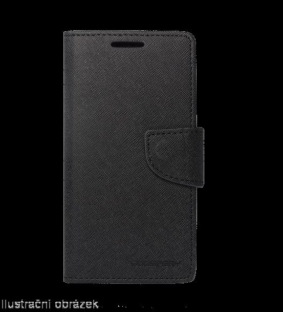Flipové pouzdro na mobil FANCY BOOK Xiaomi Mi4 Černé (Flipové knížkové vyklápěcí pouzdro na mobilní telefon Xiaomi MI4)