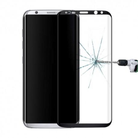 Ochranné tvrzené 3D sklo pro Samsung Galaxy S8 Plus na celý displej - černé (Tvrzenné ochranné sklo Samsung Galaxy S8 Plus)