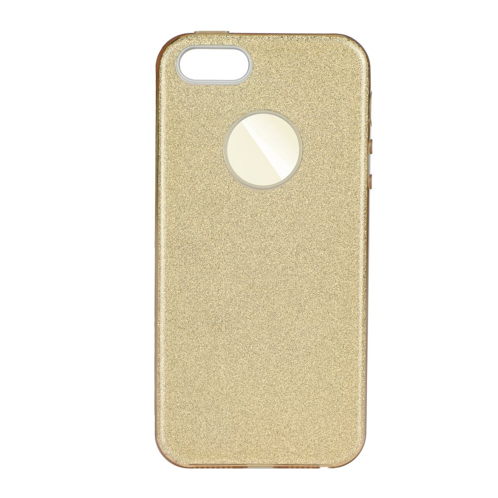 Třpytivé pouzdro Forcell Shining na mobil Apple iPhone 7 / 8 Gold