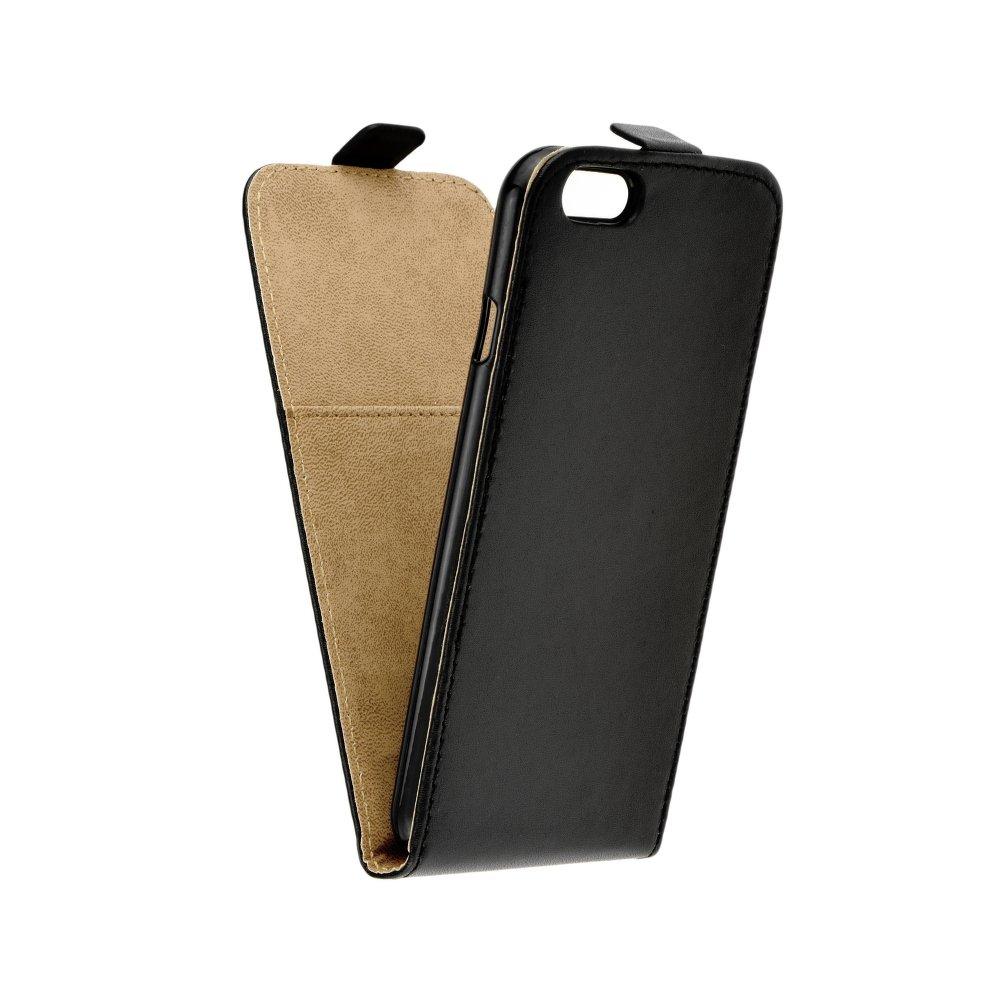 Vertikální flipové pouzdro Forcell FLEXI FRESH pro Apple iPhone 6   6S  Černé (Flipové vertikální 3c1ed4b2d94