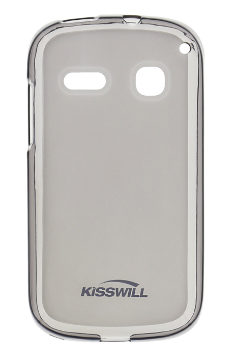 Silikonové pouzdro Kisswill pro mobilní telefon Alcatel One Touch Pop C3 světlé (Silikonový kryt či obal na mobil Alcatel One Touch Pop C3)