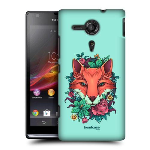 Pouzdro na mobil Sony Xperia SP C5303 HEAD CASE FAUNA LIŠKA (Kryt či obal na mobilní telefon Sony Xperia SP )