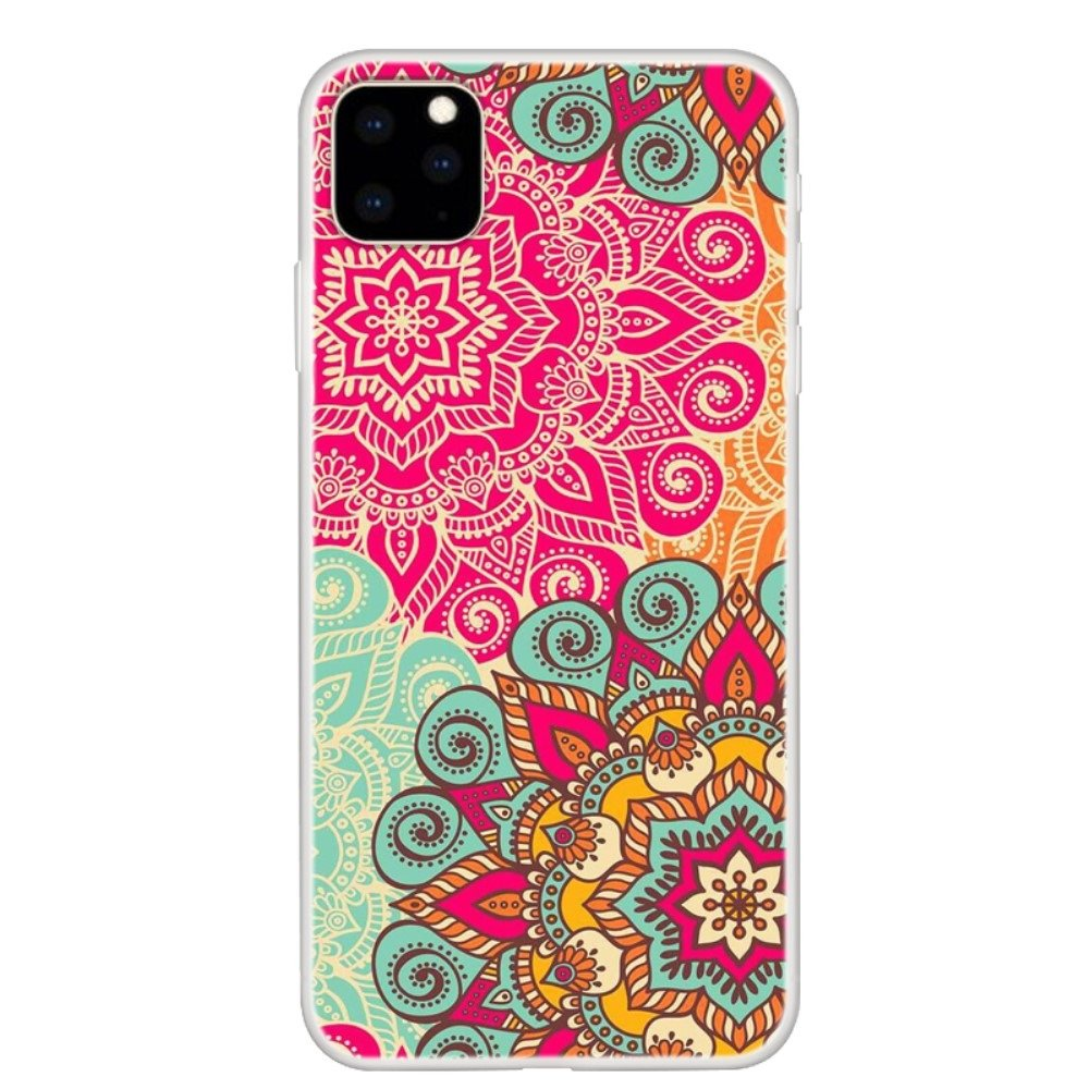 Silikonové pouzdro Slim case Art na mobil Apple iPhone 11 Mandala flower