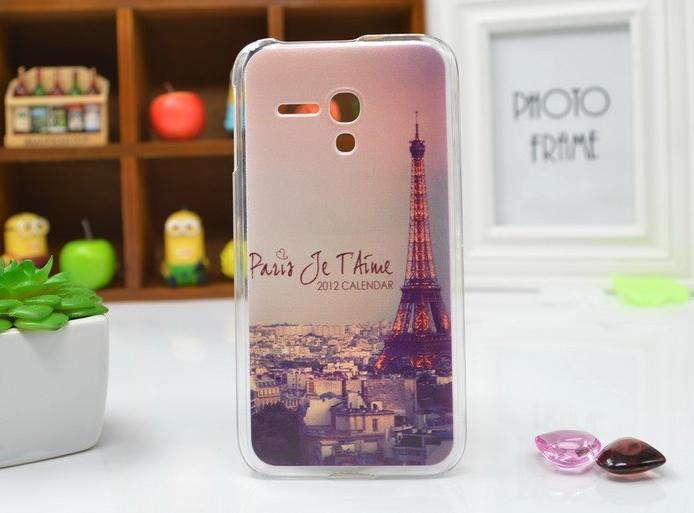 Pouzdro na mobilní telefon Alcatel One Touch Pop D5 Eifelova Věž (Kryt či obal na mobilní telefon Alcatel One Touch Pop D5)