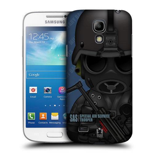 Plastové pouzdro na mobil Samsung Galaxy S4 Mini HEAD CASE Voják Air Force (Kryt či obal na mobilní telefon Samsung Galaxy S4 Mini GT-i9195 / i9190)