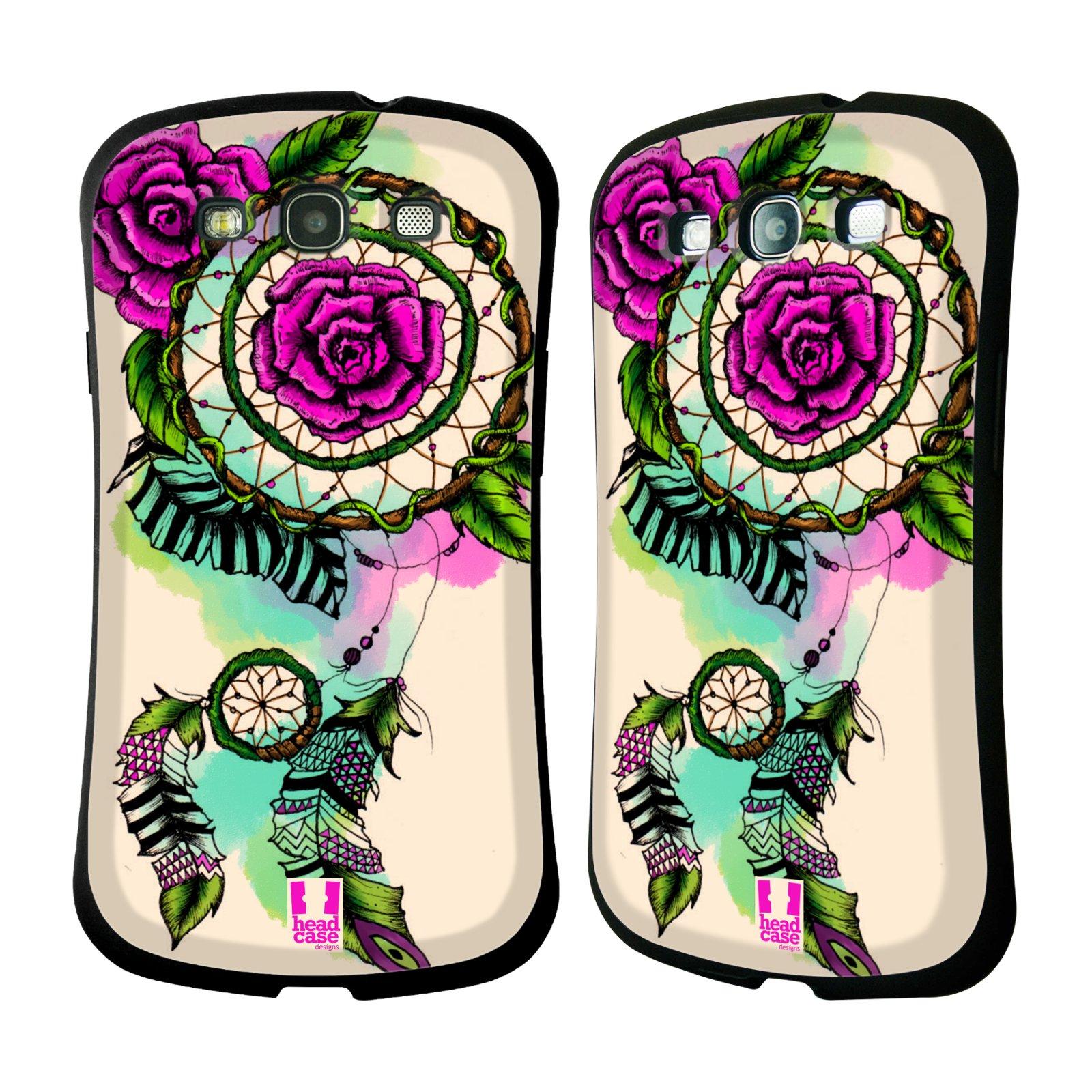 Nárazuvzdorné pouzdro na mobil Samsung Galaxy S3 Neo HEAD CASE BLOOM ROSE (Odolný nárazuvzdorný silikonový kryt či obal na mobilní telefon Samsung Galaxy S3 Neo GT-i9301i)