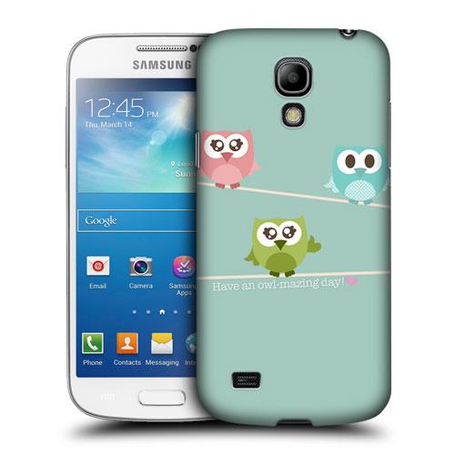 Pouzdro na mobil Samsung Galaxy S4 Mini VE HEAD CASE SOVIČKY OWLMAZING (Kryt či obal na mobilní telefon Samsung Galaxy S4 Mini VE GT-i9195i)