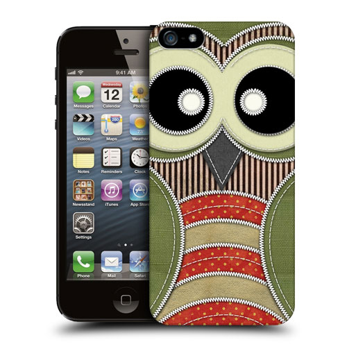 Pouzdro na mobil Apple iPhone 5 a 5S HEAD CASE SŮVA