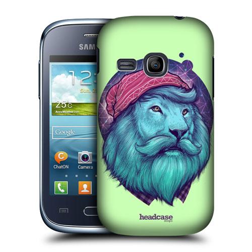 Plastové pouzdro na mobil Samsung Galaxy Young HEAD CASE HIPSTER LEV (Kryt či obal na mobilní telefon Samsung Galaxy Young GT-S6310)