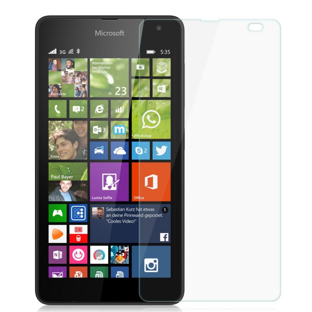 Ochranné tvrzené temperované sklo pro MICROSOFT LUMIA 535 (Tvrzenné ochranné sklo Microsoft Lumia 535)