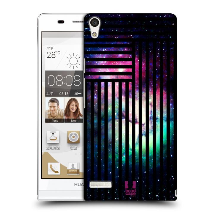 Plastové pouzdro na mobil Huawei Ascend P6 HEAD CASE MIX NEBULA STRIPES (Kryt či obal na mobilní telefon Huawei Ascend P6)