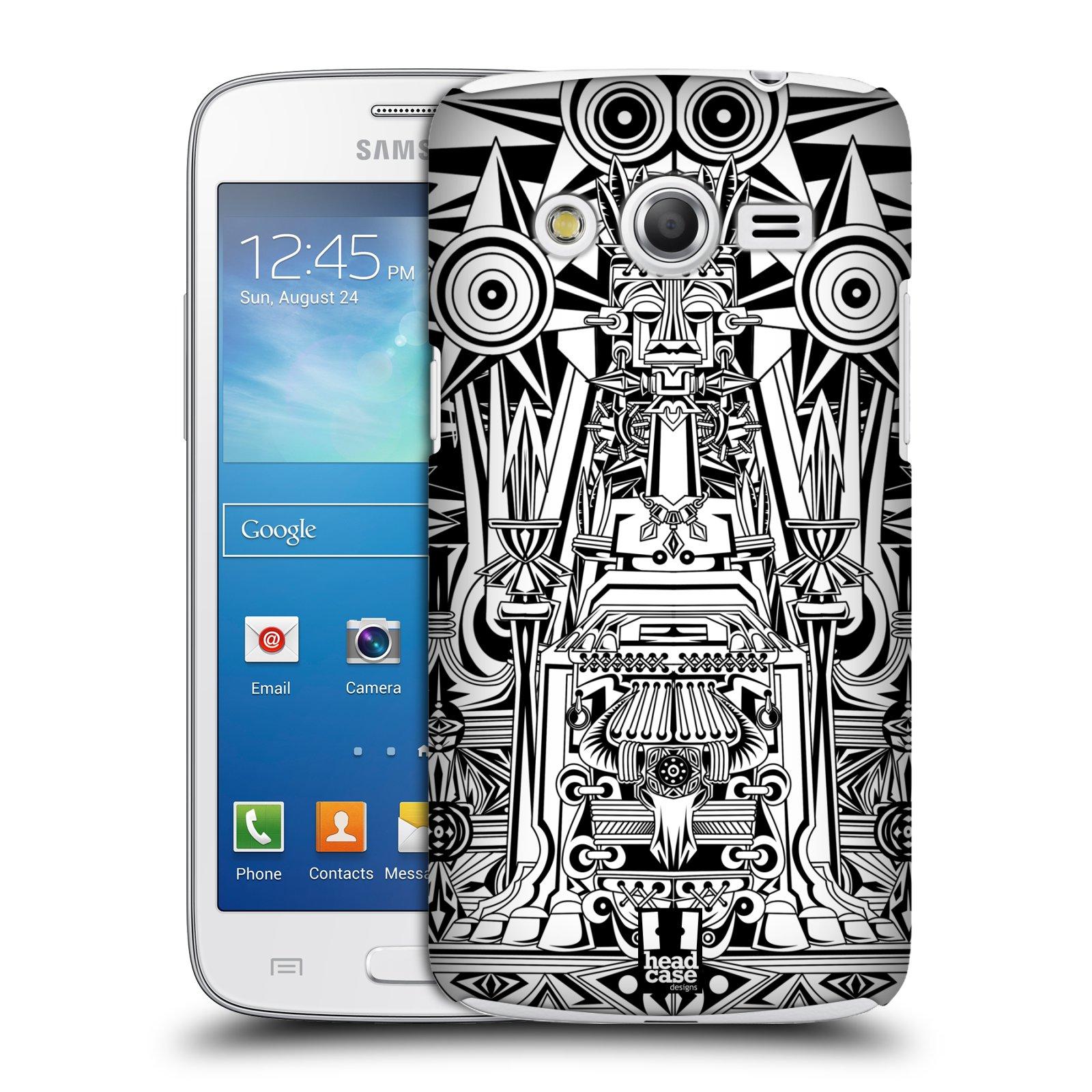 Plastové pouzdro na mobil Samsung Galaxy Core LTE HEAD CASE BULOL-BADJAO (Kryt či obal na mobilní telefon Samsung Galaxy Core LTE SM-G386)