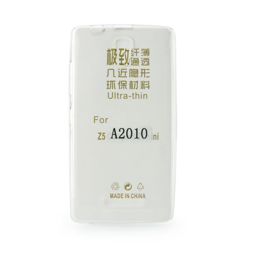 Silikonové pouzdro pro mobil Lenovo A2010 LTE Ultra Thin 0,3 mm světlé (Silikonový kryt či obal na mobil Lenovo A2010 LTE)