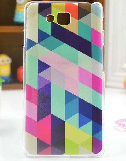 Pouzdro na mobil LG L9 II D605 Stripes Barvy (Kryt či obal na mobilní telefon LG L9 II D605)