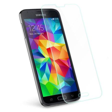 Ochranné tvrzené sklo na displej pro SAMSUNG GALAXY S5 mini G800 (Tvrzenné ochranné sklo Samsung Galaxy S5 mini)