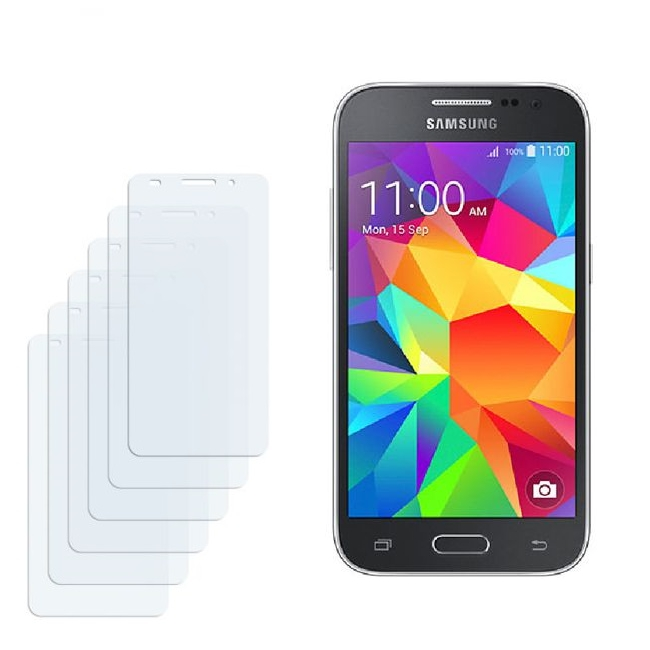 Ochranná fólie na displej Samsung Galaxy Core Prime G360 / VE G361 (6ks) (Ochranná fólie Samsung Galaxy Core Prime / Prime VE G361 na displej mobilního telefonu)
