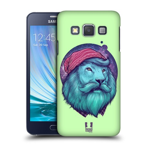Pouzdro na mobil Samsung Galaxy A3 HEAD CASE HIPSTR LEV (Kryt či obal na mobilní telefon Samsung Galaxy A3 A300F)