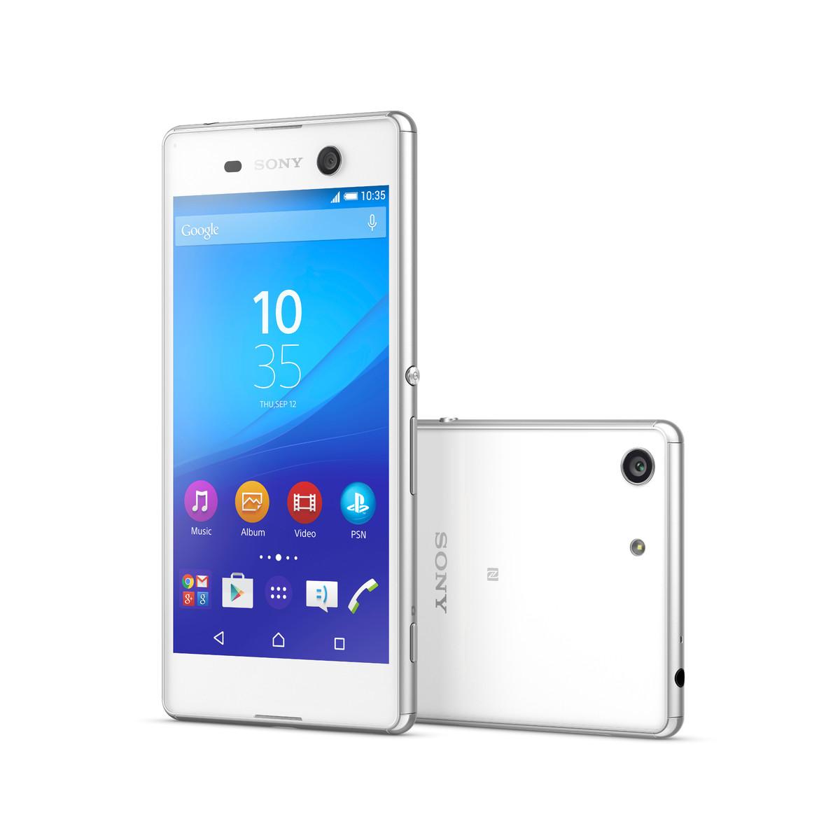 OCHRANNÉ TEMPEROVANÉ SKLO Sony Xperia M5 přední (Tvrzenné ochranné sklo Sony Xperia M5 - na displej telefonu)