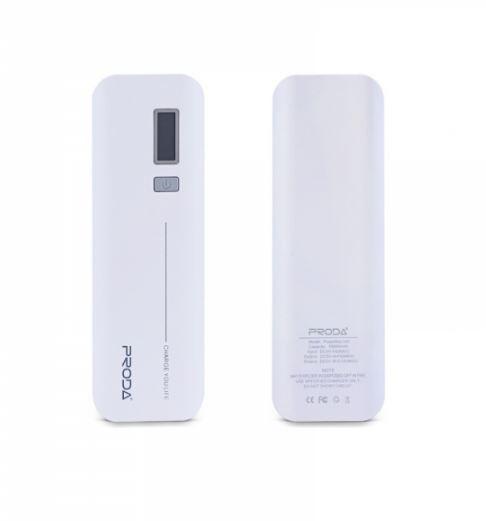 Power banka Remax Jane V6i 10 000mAh White (Externí záložní baterie - powerbanka Remax Proda V6i)