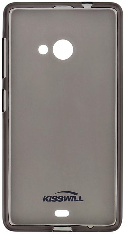 Silikonové pouzdro Kisswill na mobil Honor 5X tmavé (Silikonový kryt či obal na mobil Huawei Honor 5X)