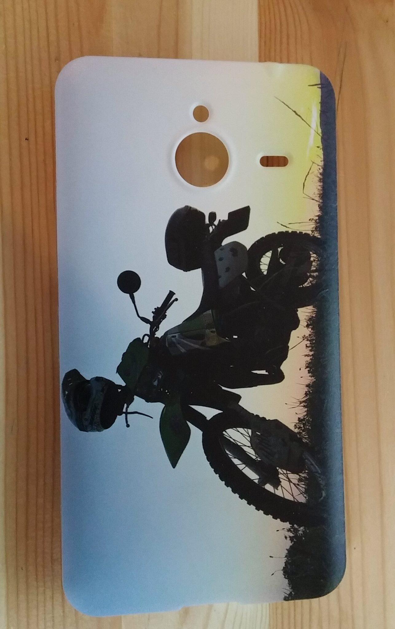 Silikonové pouzdro na mobil Microsoft Lumia 640 XL HEAD CASE MOTORKA (Silikonový kryt či obal na mobilní telefon Microsoft Lumia 640 XL)