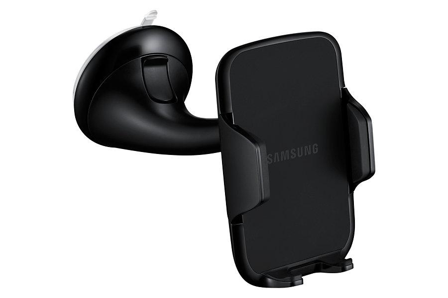 Univerzální originální držák do auta Samsung EE-V200SA s přísavkou na sklo (Držák do auta pro mobilní telefony a smartphony Samsung EE-V200SA + přísavka na palubní desku)