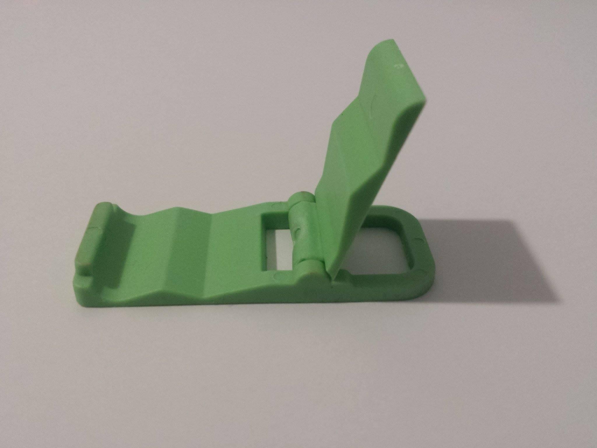Kompaktní stojánek COOLCASE na mobilní telefon - zelený (Barevný stojánek na mobil)