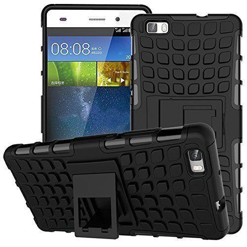 Odolné pouzdro PANZER CASE na mobilní telefon Huawei P8 Lite Černé