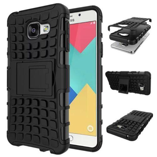 Odolné pouzdro PANZER CASE na mobilní telefon Samsung Galaxy A3 (2016) Černé