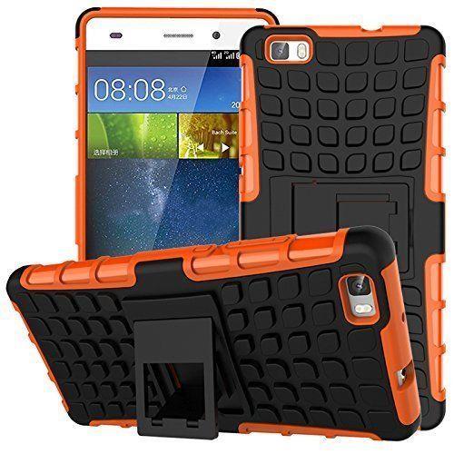 Odolné pouzdro PANZER CASE na mobilní telefon Sony Xperia M4 Aqua Oranžové (Odolný kryt či obal na mobil Sony Xperia M4 Aqua se stojánkem)