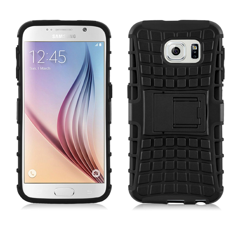 Odolné pouzdro PANZER CASE na mobilní telefon Samsung Galaxy S7 Edge ČERNÉ