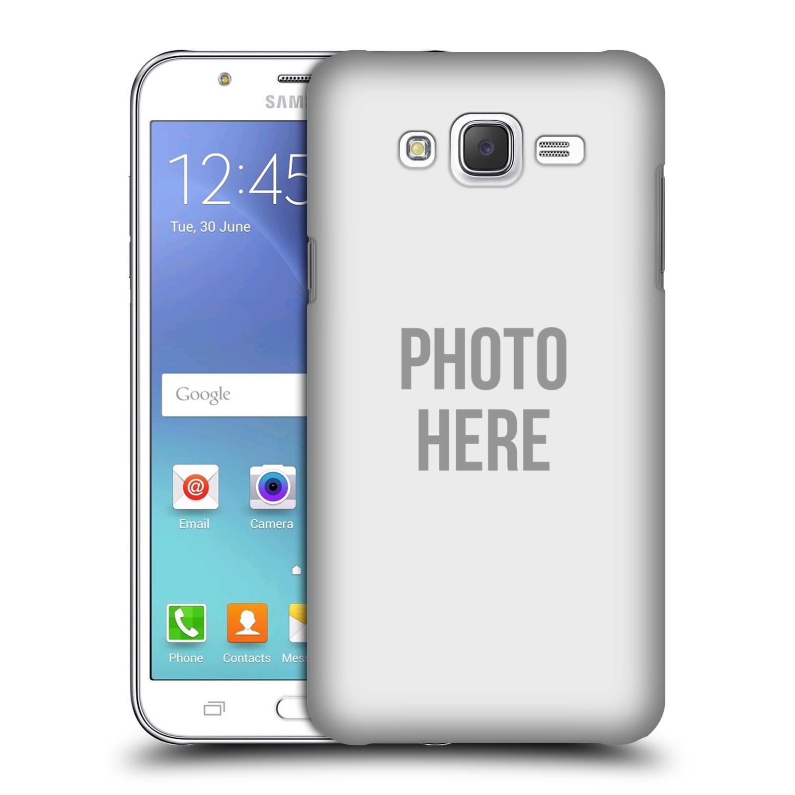 Pouzdra Samsung Silikonov Pouzdro Na Mobil J500 Galaxy J5 Head Case S Vlastnm Motivem