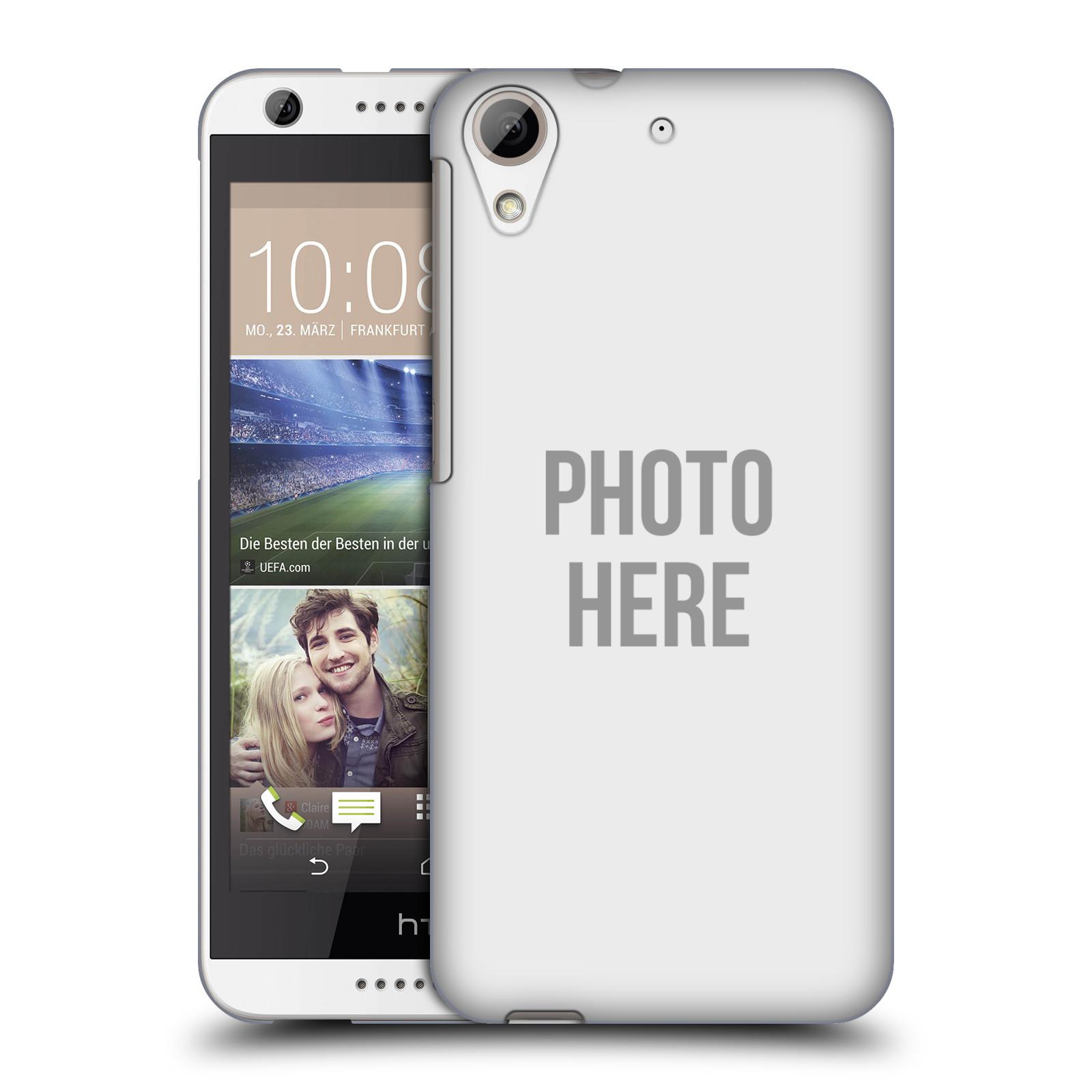Silikonové pouzdro na mobil HTC Desire 626 / 626G HEAD CASE s vlastním motivem (Silikonový kryt či obal s vlastní fotografií na mobilní telefon HTC Desire 626 a 626G Dual SIM)